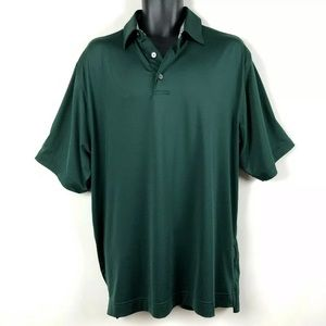 FootJoy Golf Polo Shirt dark green mens L